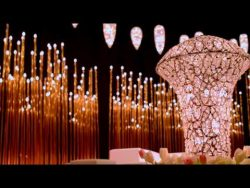 Arabic Wedding Oscar Theme in Madinat Jumeirah Arena Ballroom – #WeddingIdeas