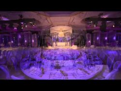 Royal Wedding Crystal Fairy Breath Theme in Habtoor Grand Hotel by Olivier Dolz Wedding Planner  ...