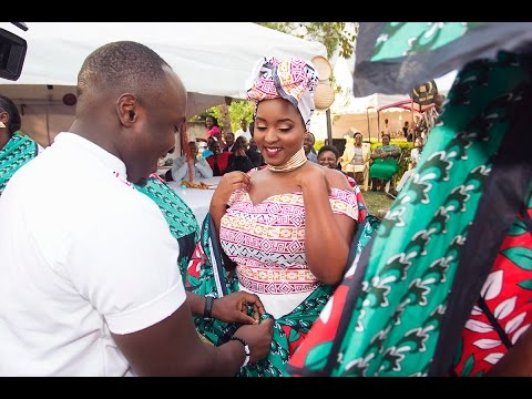 OUR TRADITIONAL AFRICAN WEDDING – THE PEACES – OccasionsTV.com
