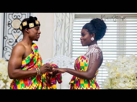 A Ghanaian Traditional Wedding ( Phillip & Tina) ~ OccasionsTV.com