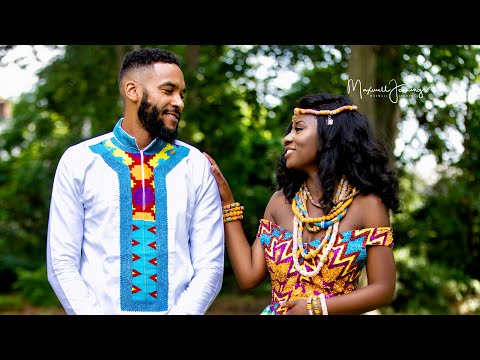 A Beautiful Display Of Ghanaian Tradition ( BRIAN & NIKKI) OccasionsTV.com