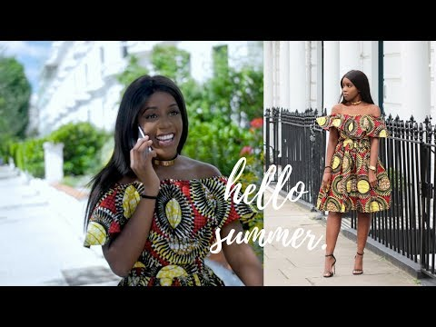 MINI LOOKBOOK | African Print Dress – OccasionsTv.com