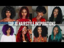 TOP 10 BACK TO SCHOOL HAIRSTYLES! – protective styling, wigs, crochet braids etc – O ...