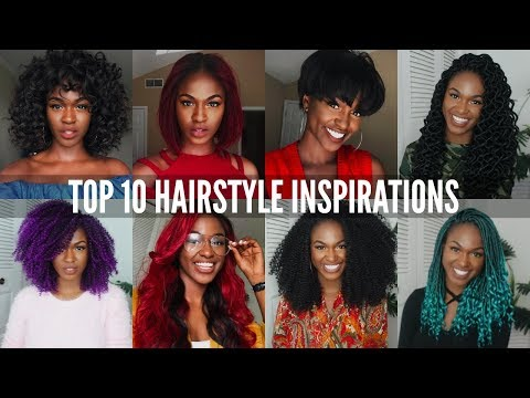 TOP 10 BACK TO SCHOOL HAIRSTYLES! – protective styling, wigs, crochet braids etc – OccasionsTv.com